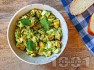 Рецепта Пастет / разядка от авокадо, варени яйца и чесън